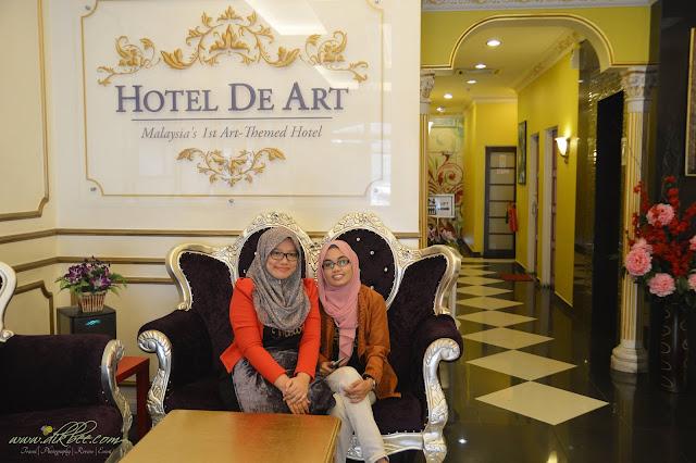 Pengalaman Di Hotel De Art Shah Alam Yang Cantik Dan Unik