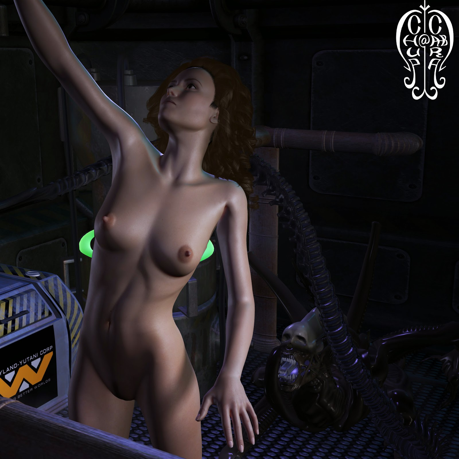 Ripley hentai out