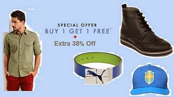 Myntra Special Offer: Buy 1 Get 1 Free Offer on Apparels, Footwear & Accessories + Extra Upto 38% Off (Limited Period Offer) Free Shipping for New Customers