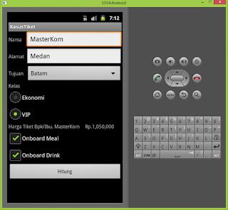 Program Penjualan Tiket Pesawat Menggunakan Pemrograman Android  Dani