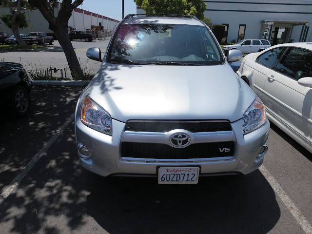 2012 Rav4 after auto body repairs at Almost Everything Auto Body