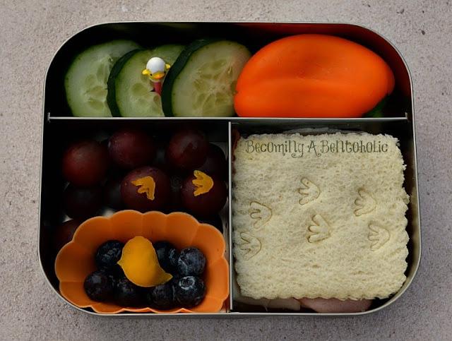 bird, bento, sandwich, school lunch, nest, lunchbots