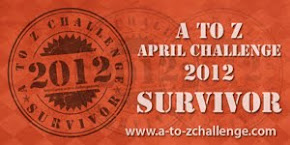 Official A to Z Survivor's Badge