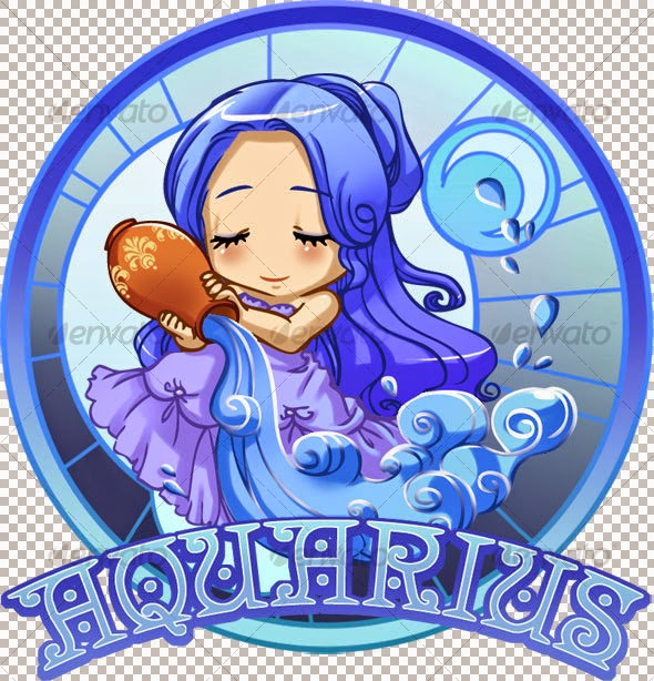 merupakan zodiak dengan lambang air tentunya Zodiak Aquarius (20 Januari - 18 Februari)