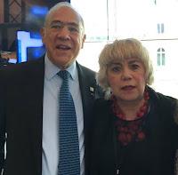 *M. Angel Gurria, Secrétaire Général de l'OCDE & Morgane BRAVO*