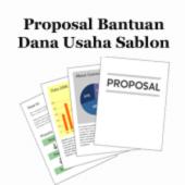 Contoh Proposal Bantuan Dana Usaha Sablon