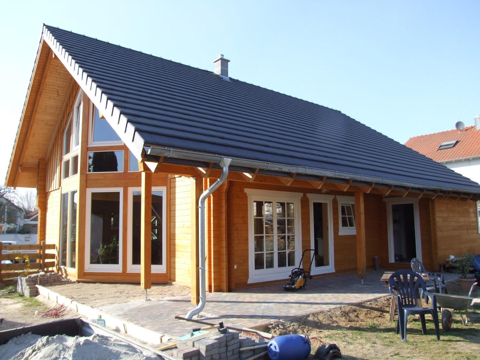 maison en bois leonwood la terrasse avance. Black Bedroom Furniture Sets. Home Design Ideas