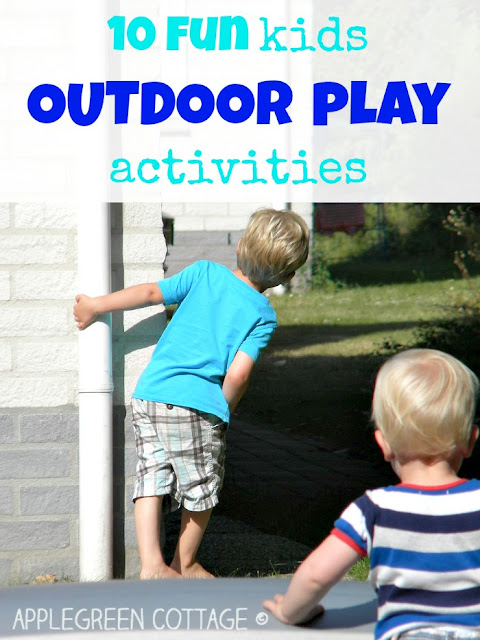 fun outdoor play for kids
