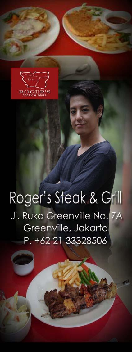 Jakarta City - Roger's Steak & Grill Restaurant