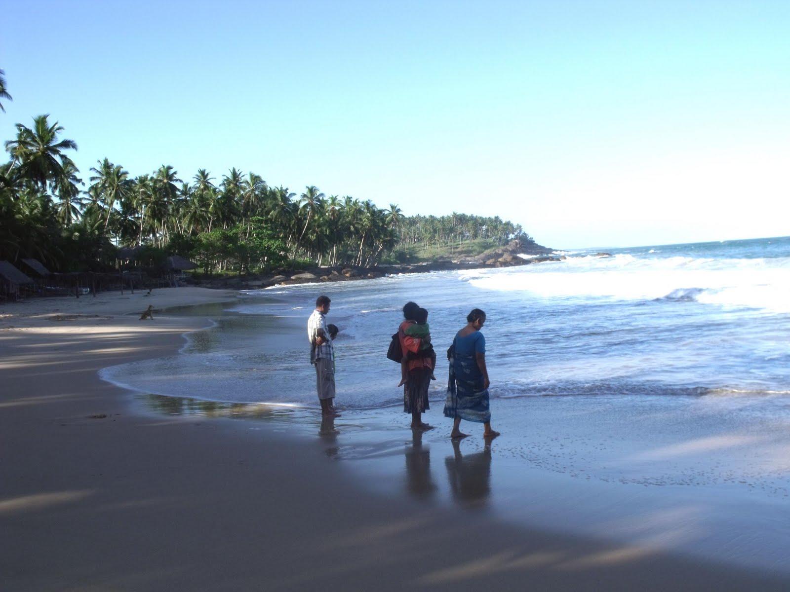 Tangalle Sri Lanka  city photos gallery : Tangalle beach, Sri Lanka.