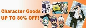 Anime Character Goods Up To 80% OFF!