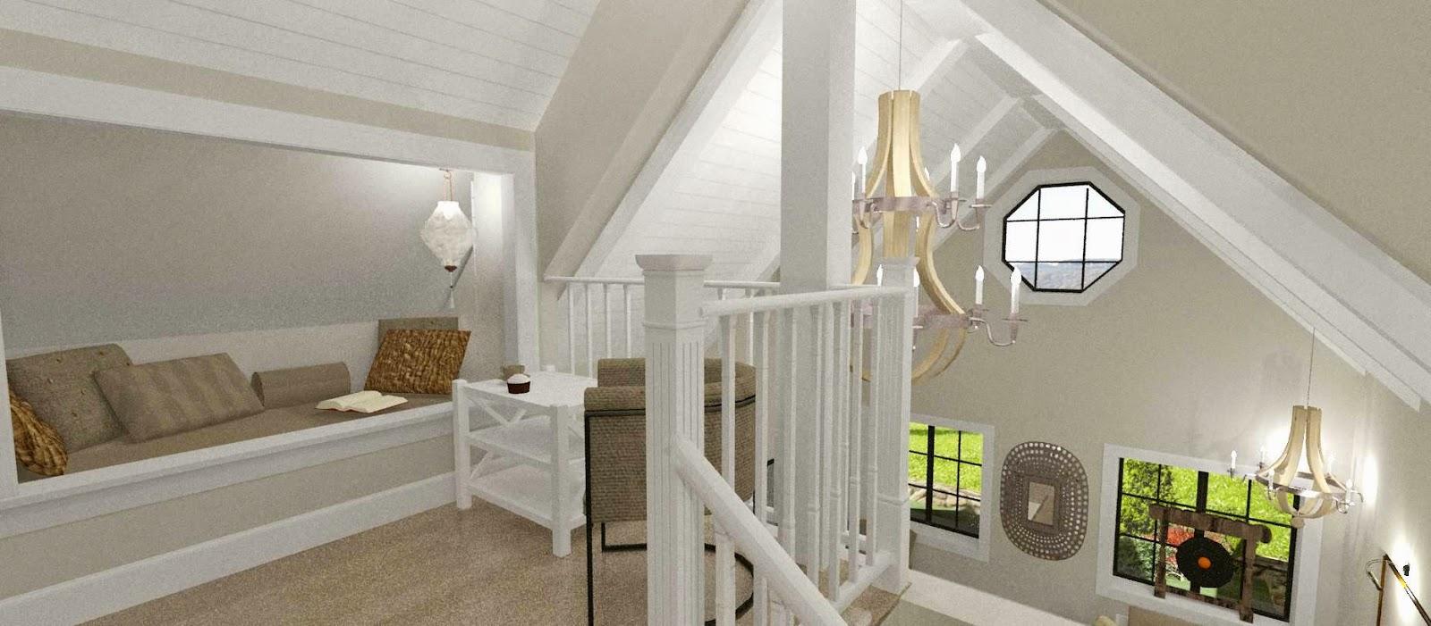 Den vita drömgården: färgval för ett new england hus