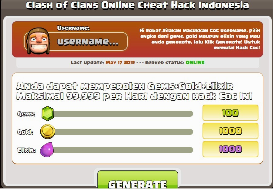 1001 Cara Cheat COC (clash of clans) Tanpa Root HP Android ...