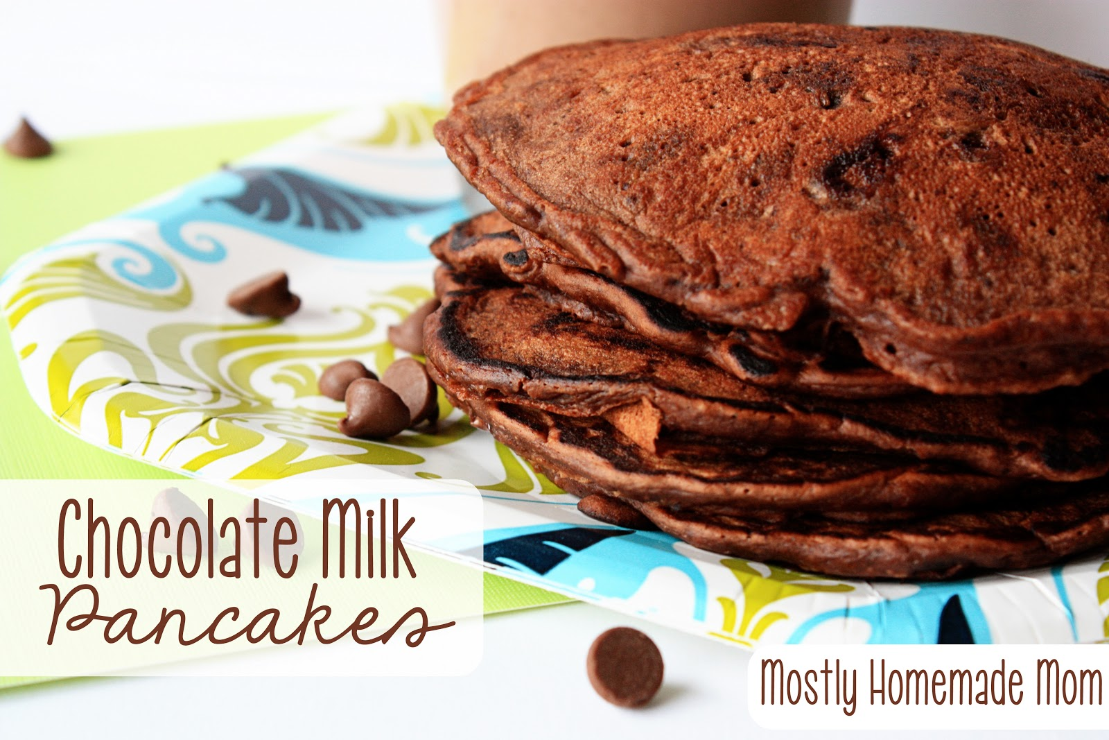 Chocolate milk pancakes mostly homemade mom ccuart Images