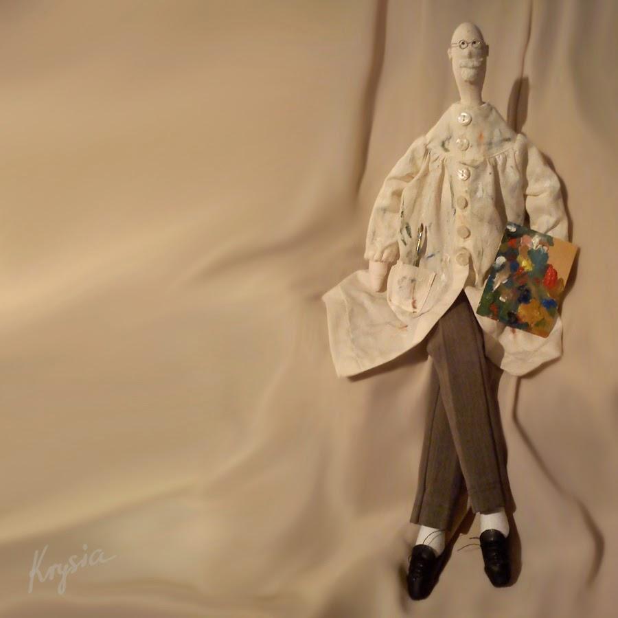 Leon Wyczółkowski Wyczółek lalka