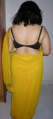 Hot Aunty Back View