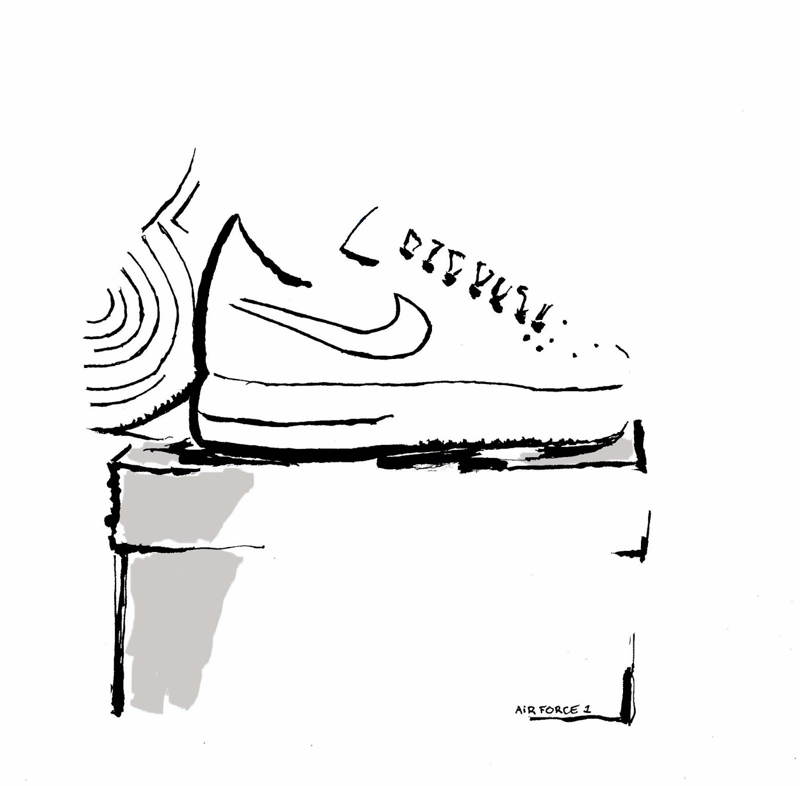 airforce1 airmax nike airmax nike airforce 1 white sneakers SS15 shoetrends shoes fashiontrends fashiontips fashionillustration illustration shopping  design fashiondrawing trends minimaldesign minimallook minimalfashion printed animal print black and white