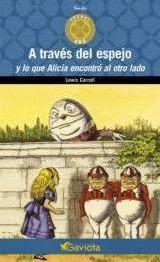 """""""a través del espejo y lo que encontró al otro lado"""" - Lewis Carroll"""