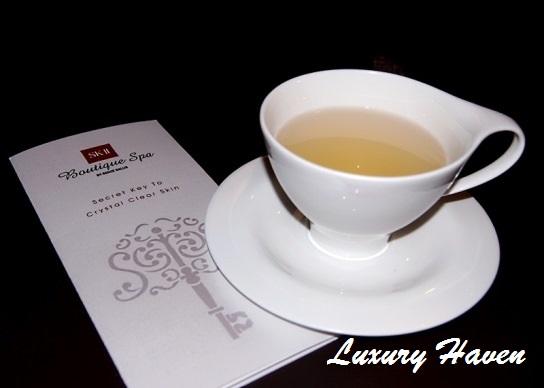 sk-ii boutique spa senzesalus millenia walk tea