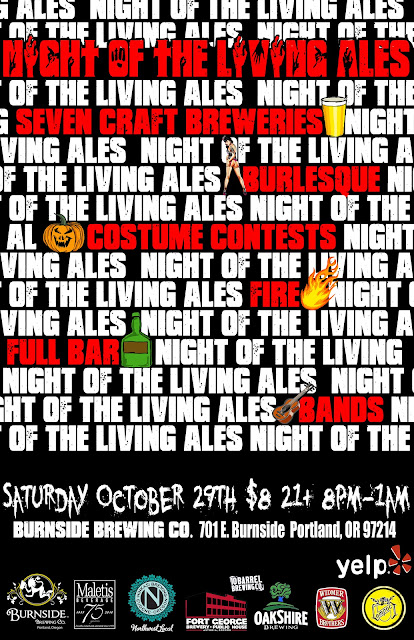 Portland Halloween Night of the Living Ales