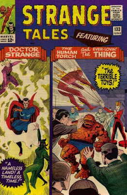 Strange Tales #133, Dr Strange, the Human Torch and the Thing