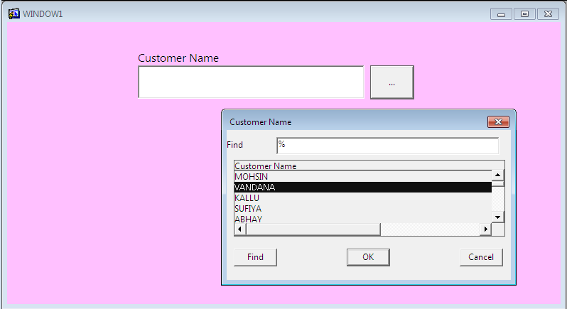 Show_Lov Example Oracle Forms