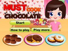 Soslu Çikolatalı Kek Oyunu