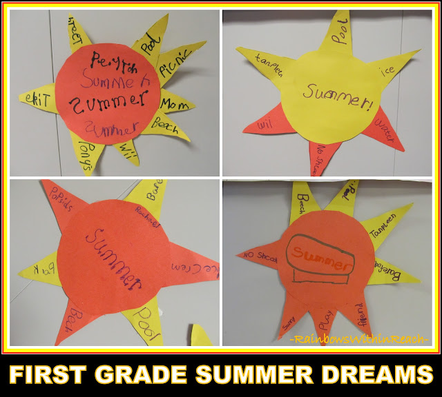 photo of: Bulletin Board for Summer Dreams, Sunshine Writing