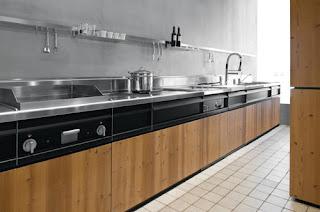 cocina de diseño italiano