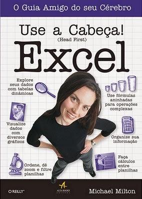 Qual o melhor livro? Use a Cabeça! Excel é um bom livro ?
