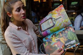 Daniela Ortega nos muestra la inmensa carta de Andrés en Chía