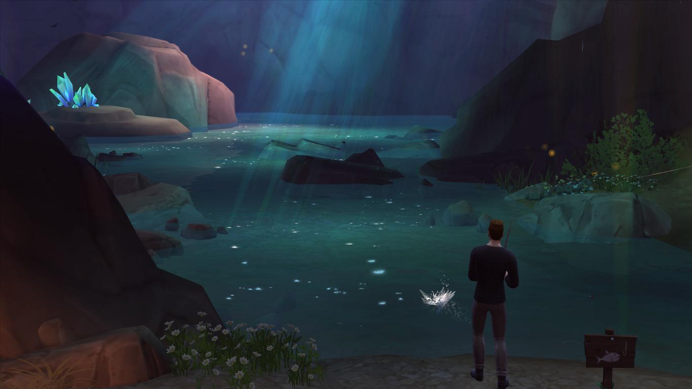 """Guía Sims 4: Desbloquear La """"Gruta Olvidada"""" y El """"Claro Silvestre"""" 12-09-2014_16-23"""