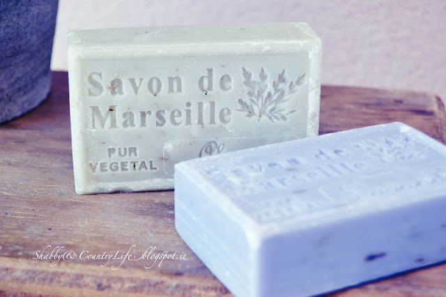Savon de Marseille - shabbyecountrylife.blogspot.it