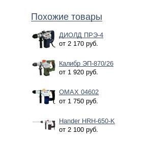 Перфораторы на Яндекс Маркете