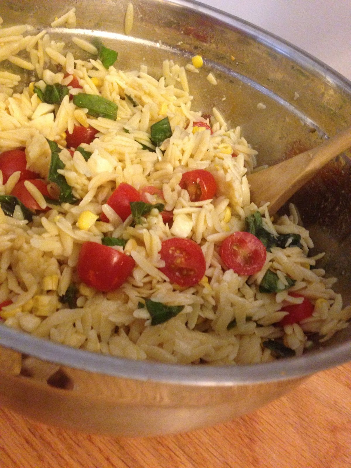 Summer Orzo Salad With a Side of RantMessymom