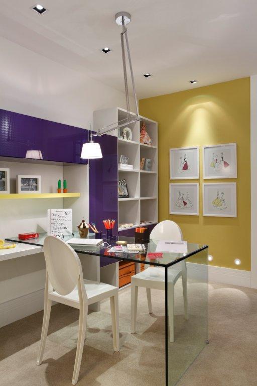 Me &Decoração Mesa de estudo no quarto  ~ Mesa De Estudo Para Quarto Moderno