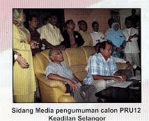 SIDANG AKHBAR PERKENALKAN CALON PKR SELANGOR PRU12!