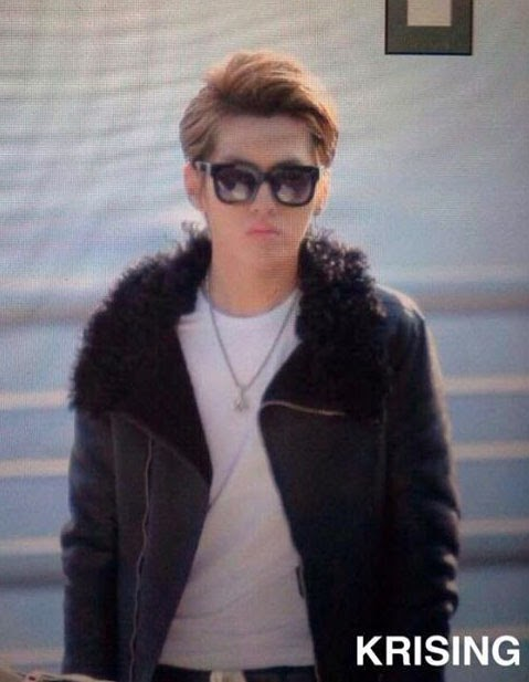 kris at Incheon Airport on his way to Taipei.jpg