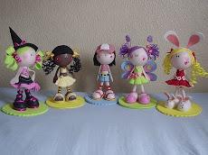 Muñecas Ternuritas en Foamy