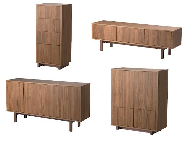 Salon con muebles ikea stockholm decorar tu casa es - Muebles salon ikea ...