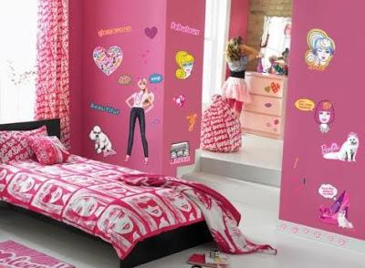 Dise o de habitaciones de barbie para ni as infantil decora for Dormitorios para ninas villa el salvador