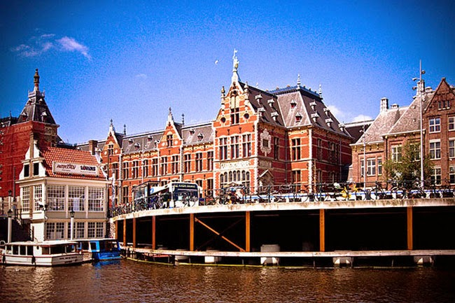 Amsterdam Central Station, Holland