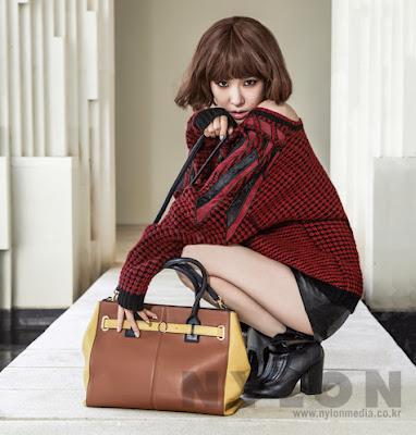 Tiffany Hwang SNSD Girls' Generation - Nylon Magazine October Issue 2013