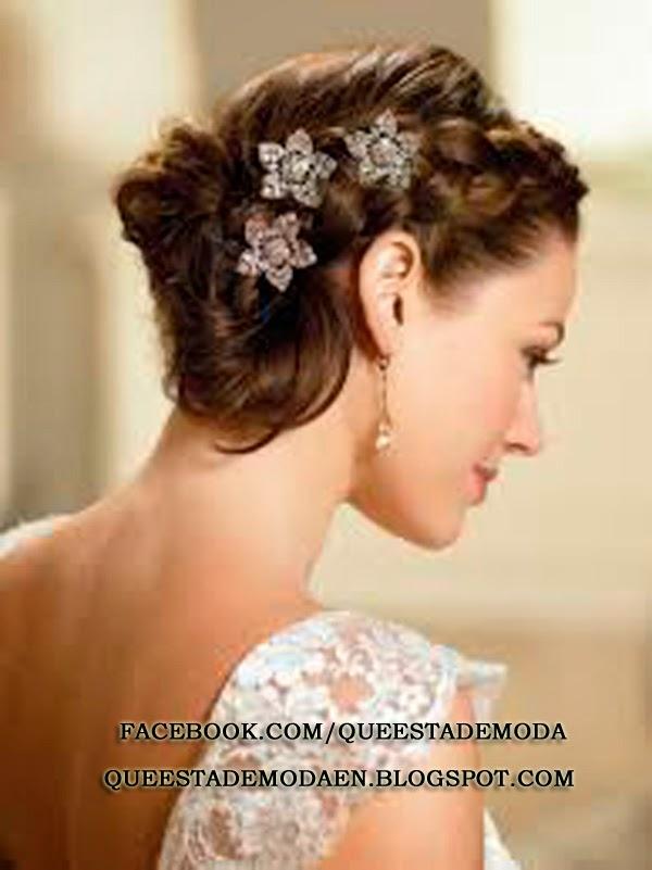 Que esta de moda peinados con trenzas para novias - Peinados monos modernos ...