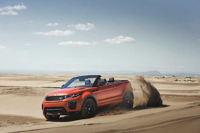 Land Rover Unveils World's First Luxury Compact SUV Convertible