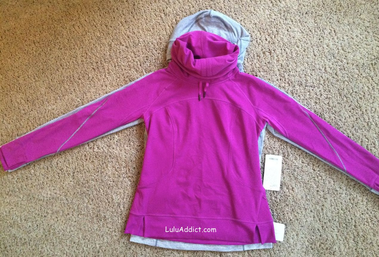 lululemon think fast flurry fighter pullovers