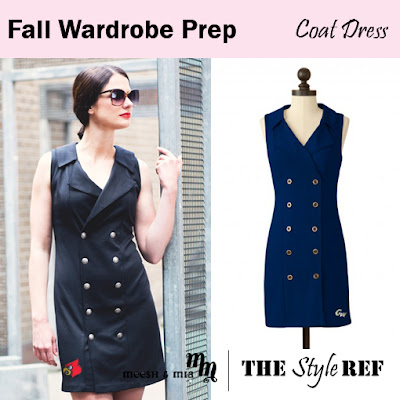 Fall Wardrobe Prep: Meesh and Mia Coat Dress in Louisville Cardinals and George Washington University Colonials