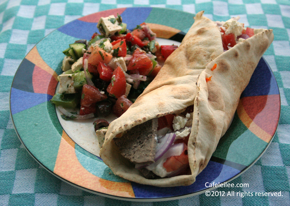 how to cook gyro meat in the oven