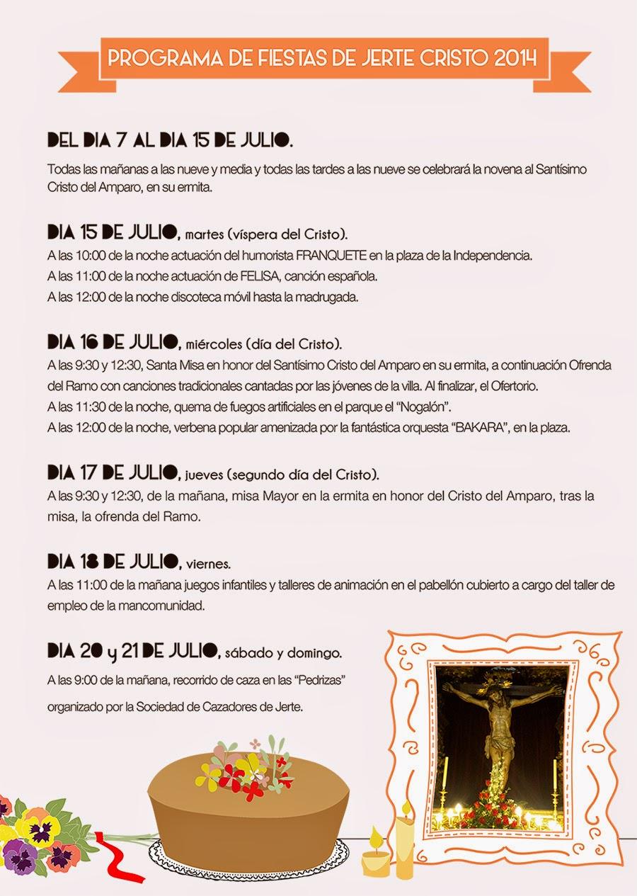 Fiestas del Cristo 2014. Jerte.