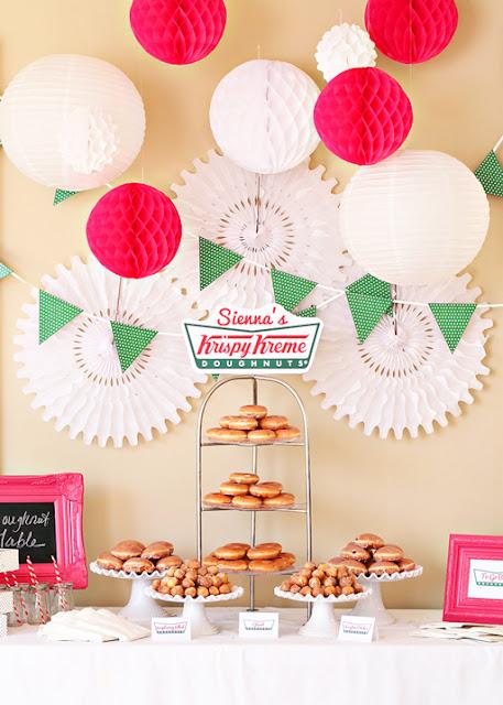 elements of design proportion Krispy Kreme party